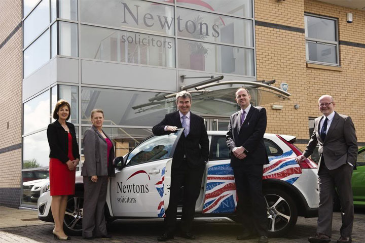 Celebrating a 5 Million Pound Turnover at Newtons Solicitors