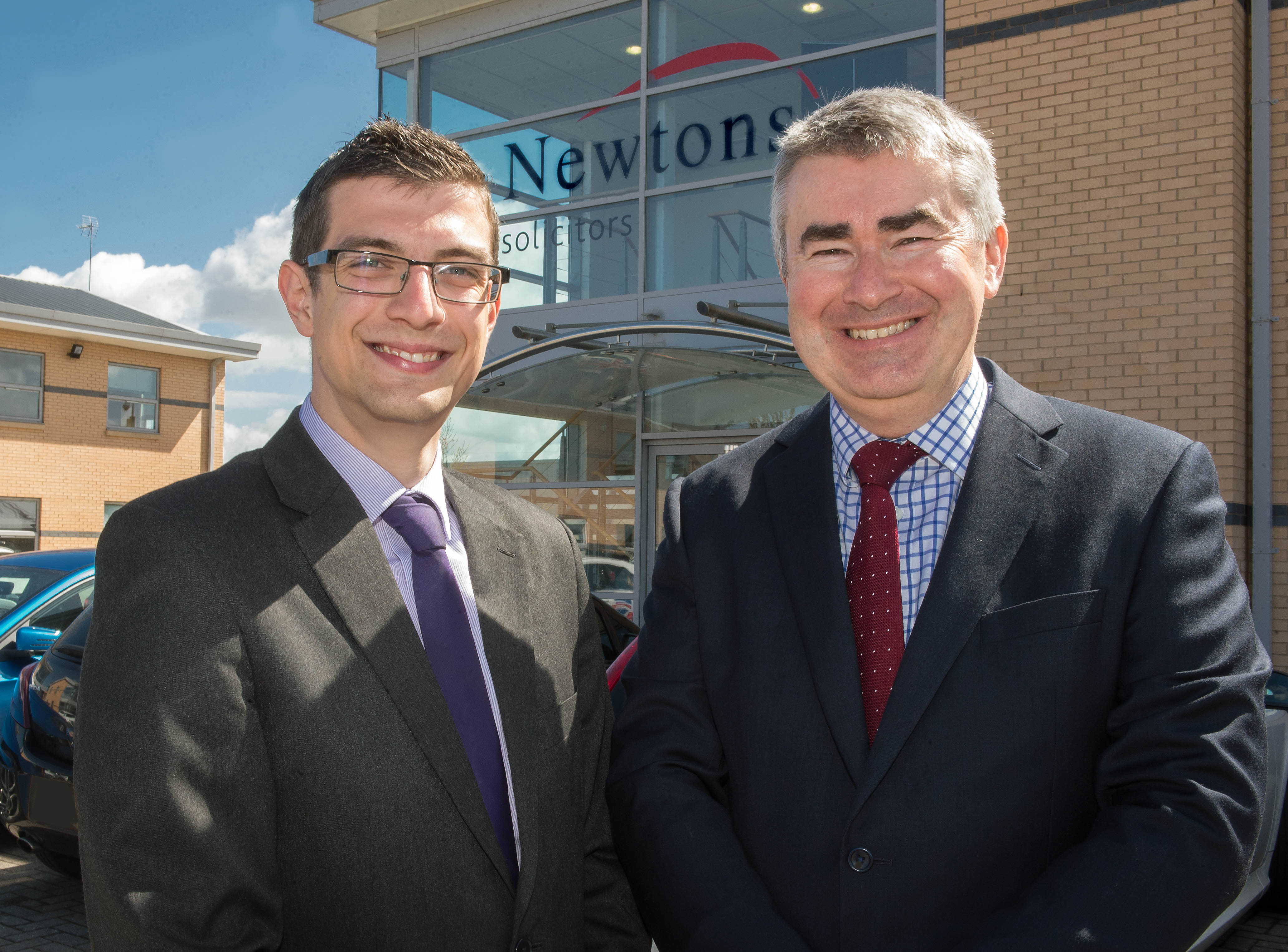 Chris and Ryan from Newtons Solicitors