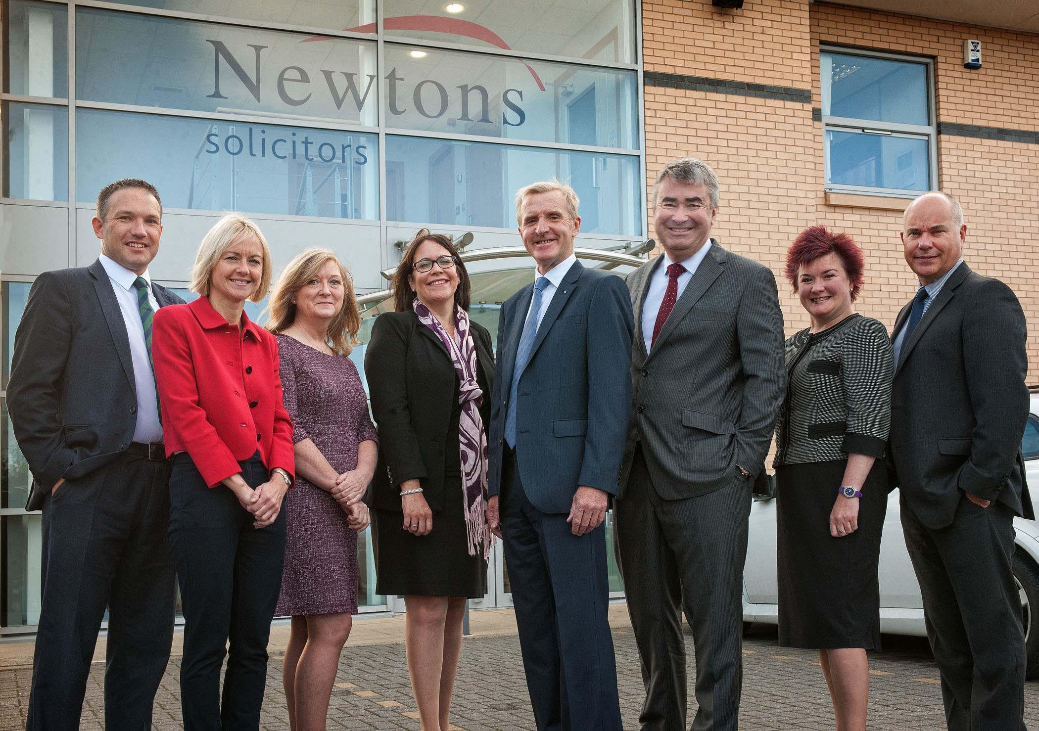 Newtons Solicitors Team Leaders Press Picture