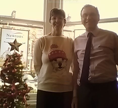 Christmas Jumper Day at Newtons Solicitors Harrogate Office