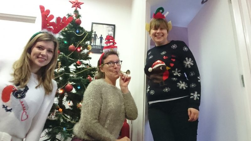 Christmas Jumper Day at Newtons Solicitors Thirsk Office