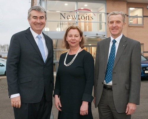 Chris, Kathryn and James of Newtons Solicitors