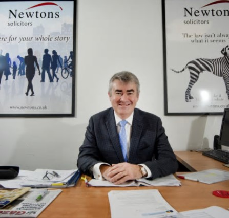 Chris Newton at Newtons Solicitors