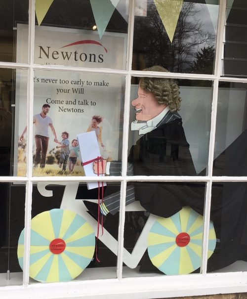Tour de Yorkshire Richmond Window Display