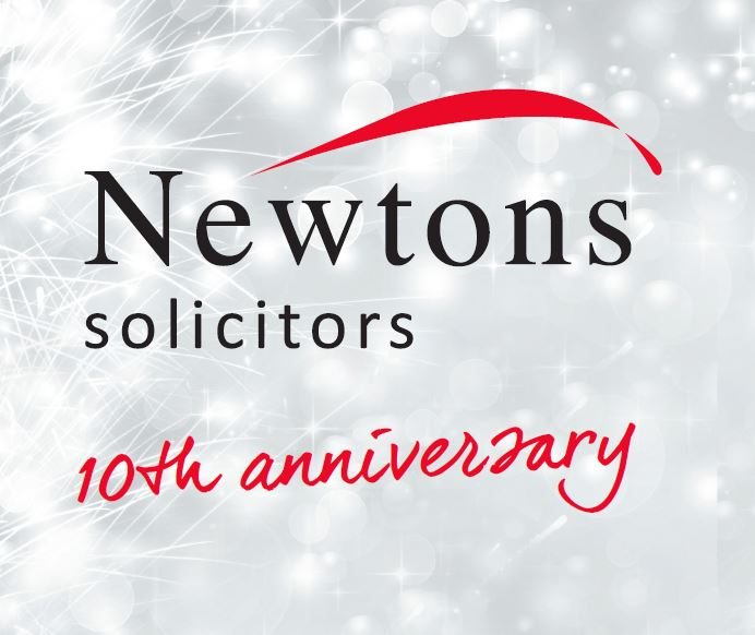 Newtons Solicitors 10th Anniversary