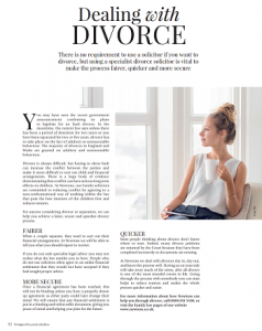 There is no requirement to use a solicitor if you want to divorce, but using a specialist divorce solicitor is vital to make the process fairer, quicker and more secure