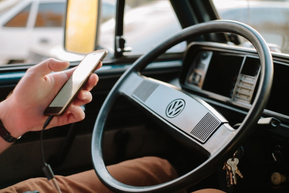 driving using a mobile phone