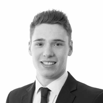 Headshot of Michael Smith, trainee solicitor at Newtons Solicitors.